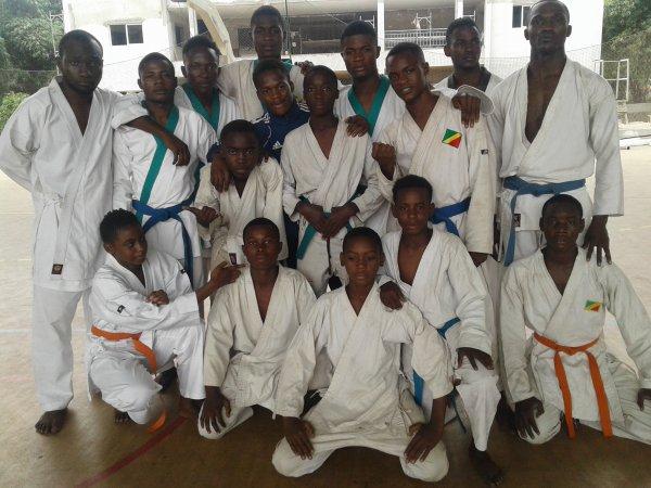Stage karaté à Brazzaville