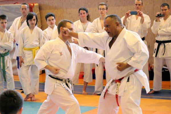 Karaté à IKS avec Pierre BRUNET