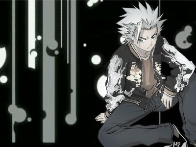 Capitaine Hitsugaya + Harry Potter Crossover *^_^*