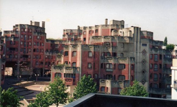 La Place Cité Rose a L'ancienne