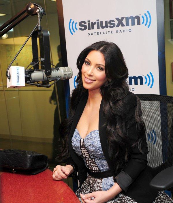 Kim at Sirius XM radio (04/14)