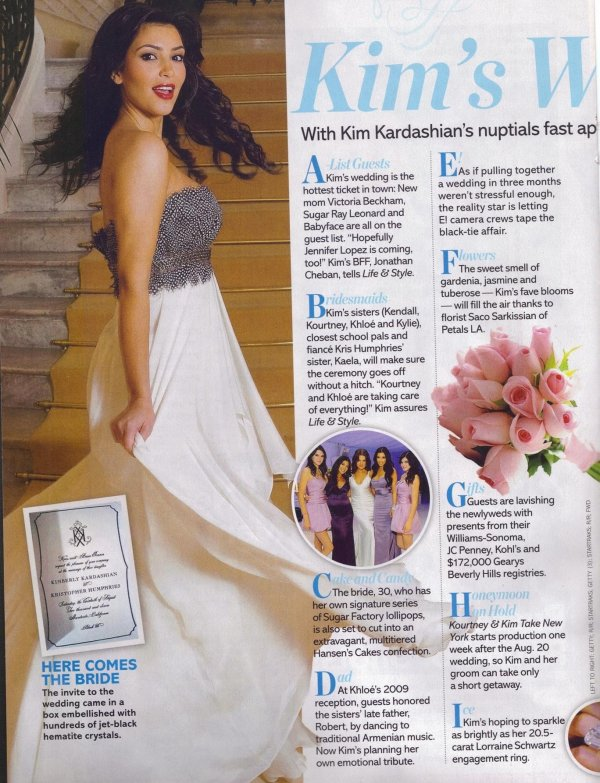 Kim for Life & Style, August 2011