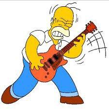 Homer a la guitare la classe :)