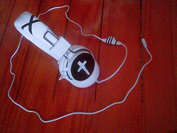 Casque de musique emo