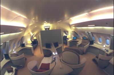 Interieur A380 - £tr£ Hot£ss£ De L\'air ch£z Air Franc£ C\'est Bcp...