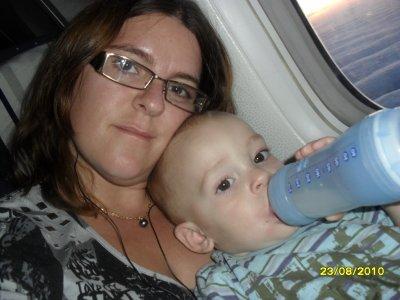 Dans L'avion