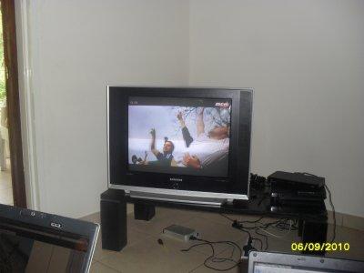 notre nouvelle télé !