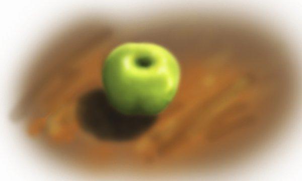 pomme floue --'