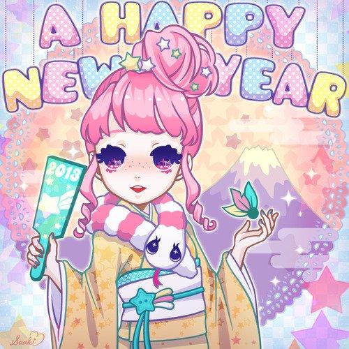 bonne année 2013!!!♥