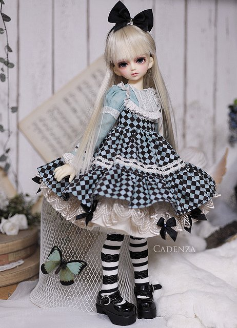 Ball-jointed doll (BJD).♥