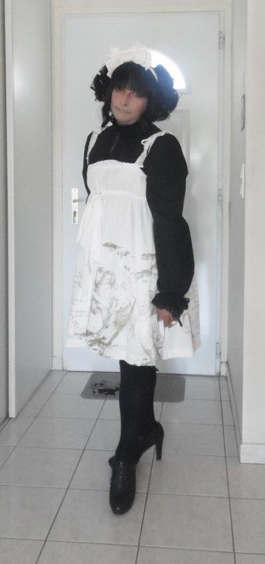 Ma tenue du jour en JSK MmM Holy Angel Ivory ^^^^^^^