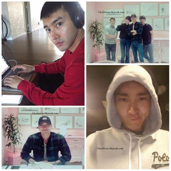 Siwon sur le compte Instagram de sa styliste