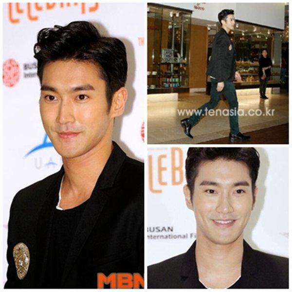 Siwon a Busan International Film Festival le 6 octobre 2013