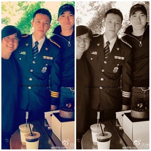 Happy birthday Donghae qui fête ses 30 ans. D'ailleurs Kennie a poster une photo d'elle avec Siwon et Donghae