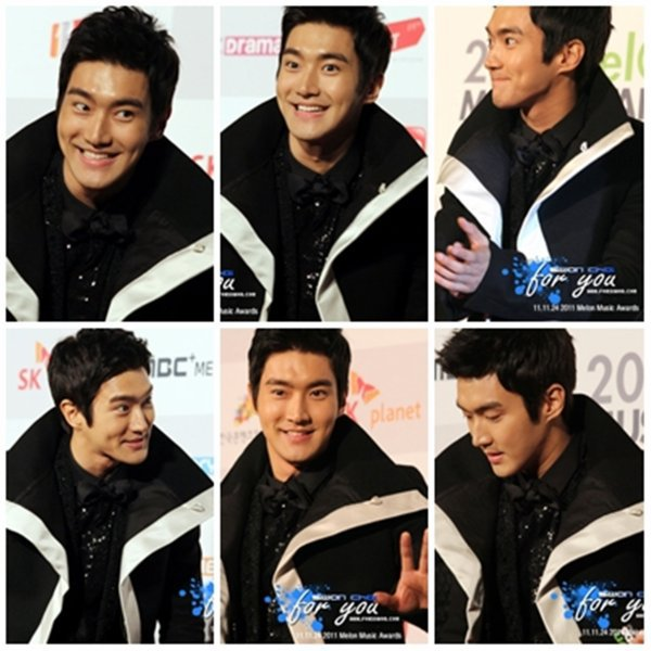 Siwon au Melon Music Awards 2011