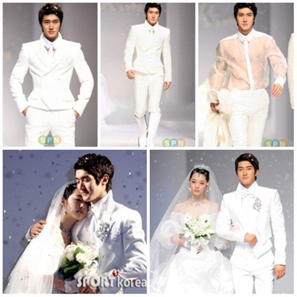 Siwon en tant que modèle de andrew kim  en 2010