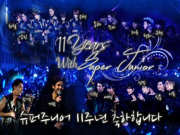 La Lettre de Siwon pour le 11ème Anniversaire de Super Junior