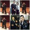 Siwon Changmin Donghae a un événement de la police