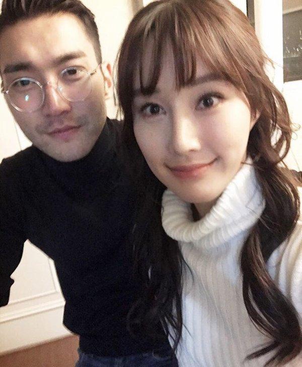 Siwon et venu rendre visite a sa soeur pour son anniversaire