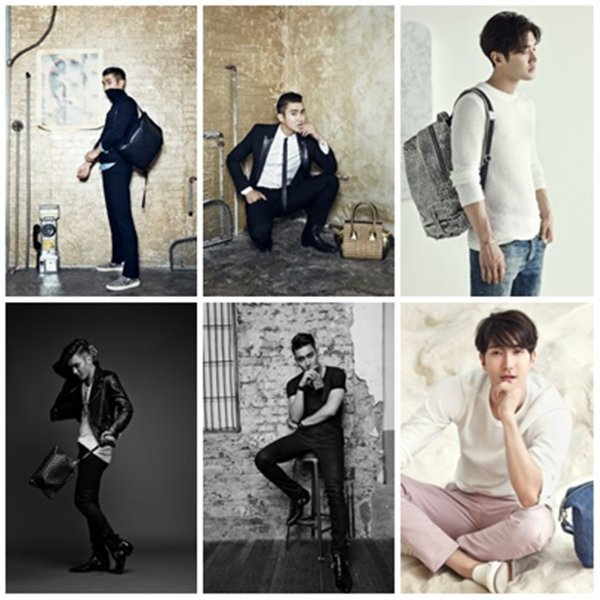 Photoshoot de Siwon pour Helianthus le 21 Avril 2015
