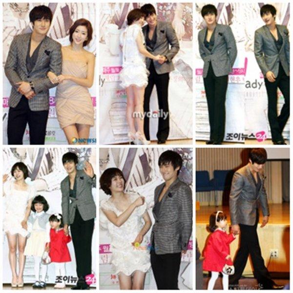 Siwon dans la conference de presse de oh! my lady 16.o3.2o1o