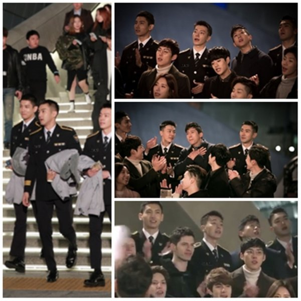 Siwon Changmin Donghae ont participer au clip Together as One