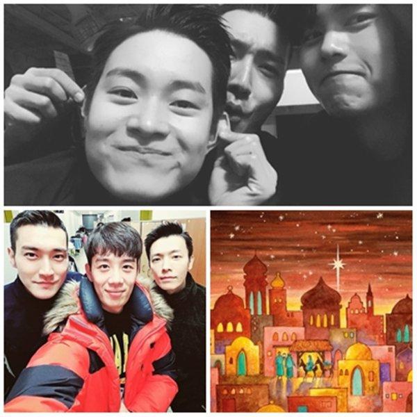 Siwon et Changmin a Myeongdong