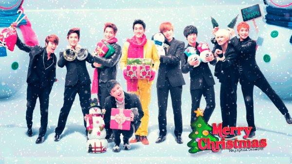 Je vous souhaite tous un joyeux Noel