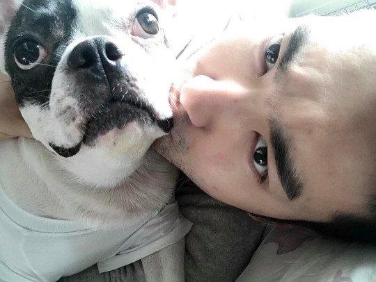 Siwon sur le compte Instagram de sa soeur