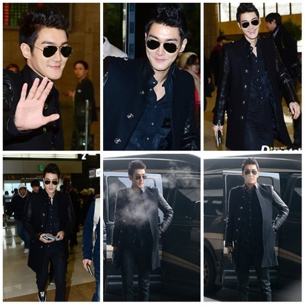 Super Junior M à l'aéroport de Gimpo le 6 Janvier 2013