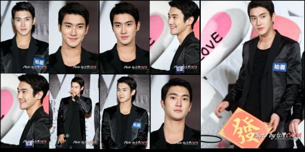 Super Junior M conférence de presse a Tawain le 27 Février 2011
