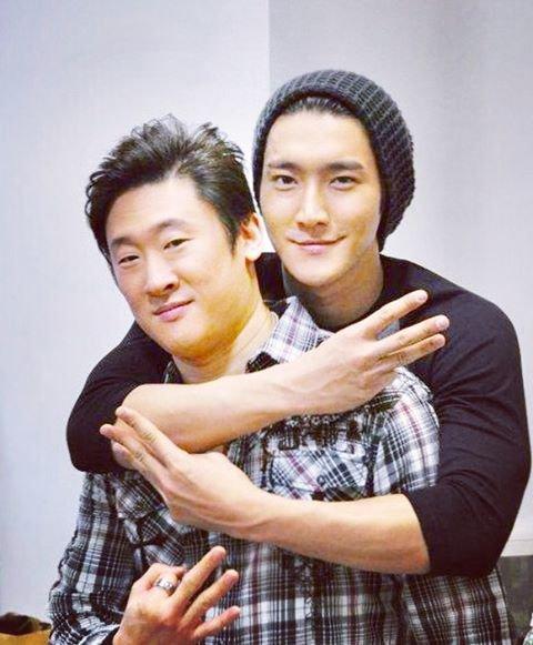 Siwon sur le compte Instagram de son ami