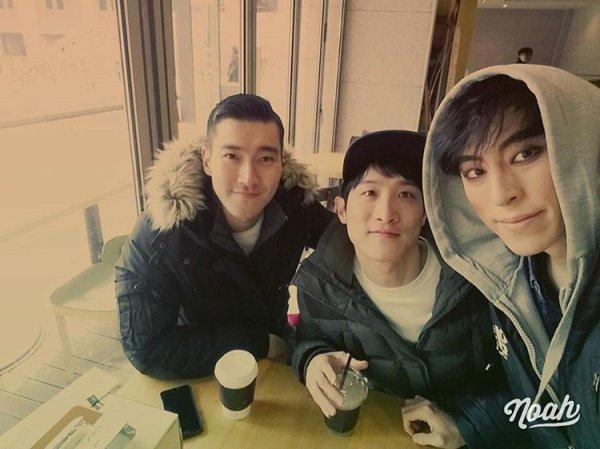 Siwon sur le compte Instagram de  k_i_m_s_k_y