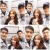 Siwon sur différent compte Instagram avec Donghae
