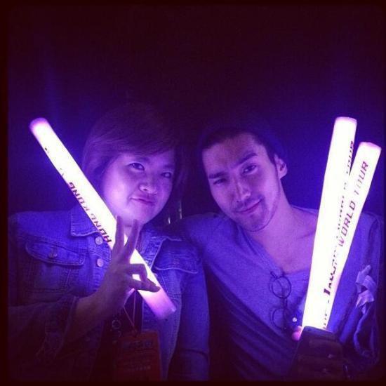Siwon au concert de Jay Chou le 17 Septembre 2013