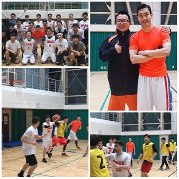 Mise a jour du compte Instagram de coachsabu avec Siwon