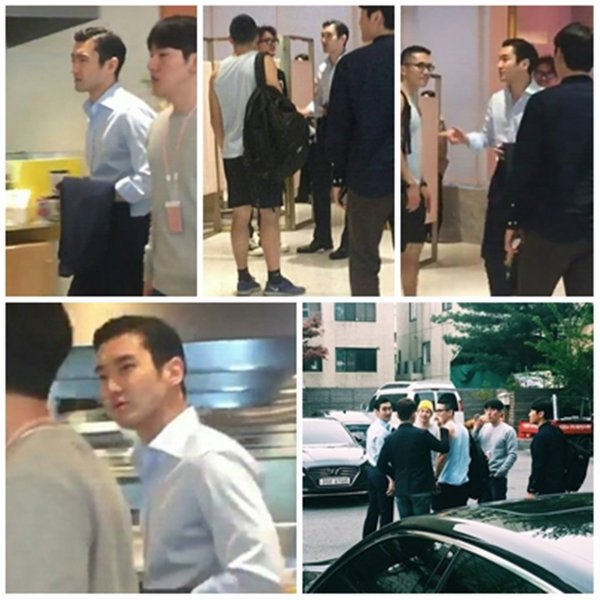 Siwon été chez SMTown Sum Cafe
