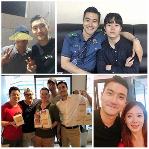 On as pas trop de nouveauté sur Siwon en ce moment mais on peux quand même le retrouver sur certaine photo sur les réseau sociaux