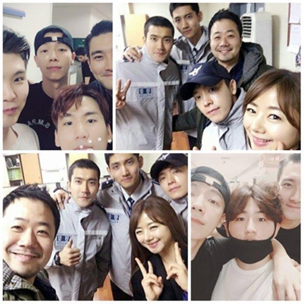 Siwon a un événement de la Police de Séoul