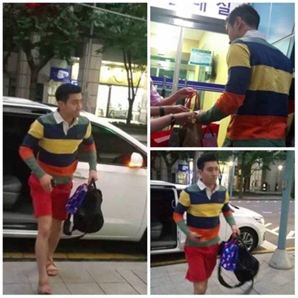 Donghae a donne un fanmetting pour son retour on peux voir des photos de Siwon