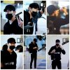 Siwon à l'aéroport d' Incheon, partant pour le Vietnam