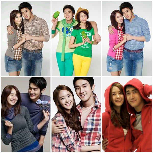 Article Flashback Siwon et Yoona pour la marque SPAO