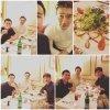 Mise à jour alex_magicman instagram avec #Siwon Dîner avec deux des gentleman les plus classe que je connaisse.