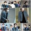 Siwon a l'aéroport d'Incheon de retour en Corée