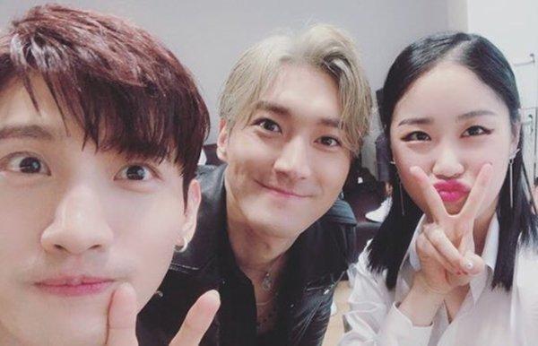 Mise a jour du Site Naver avec Siwon