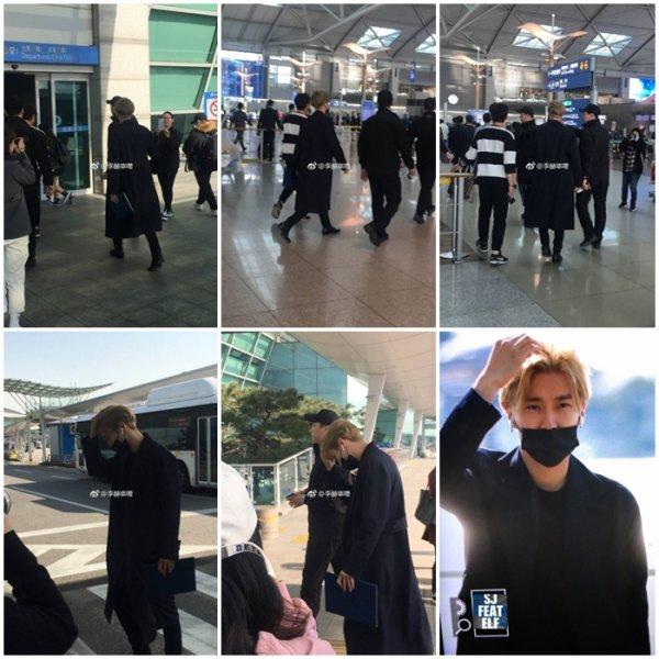Siwon at ICN airport, départ pour l' Argentine