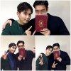 Mise a jour du compte Instagram de Siwon avec Ryeowook