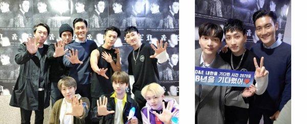 15.04.19 Siwon instagram Story  Au revoir et à très bientôt Minho !