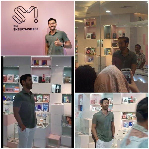 Siwon a visité le bureau de SM TOWN en Indonésie