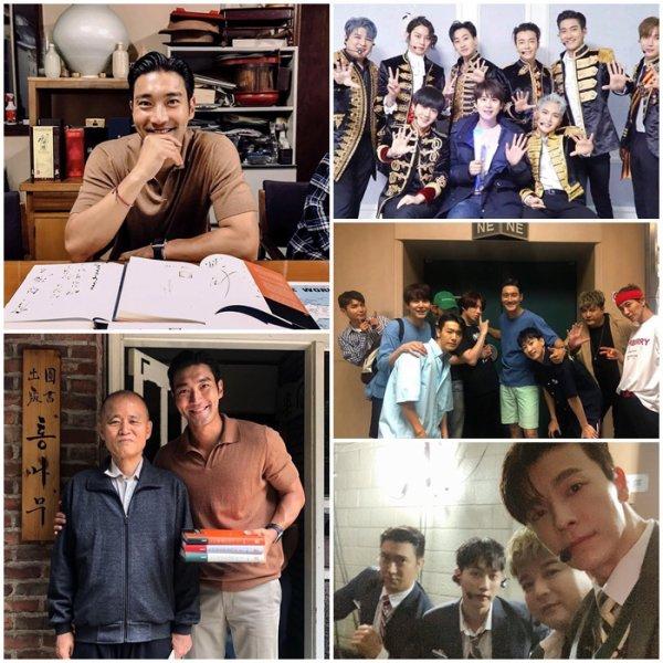 21.06.19 Siwon instagram  «4 fois en deux jours ! Une précieuse rencontre avec 40 000 fans. C'était vraiment bien et amusant ! À bientôt ! Amour #sjschool #elf »